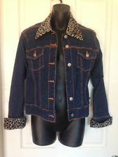 Unbranded Denim Regular Size Coats, Jackets & Vests for Women