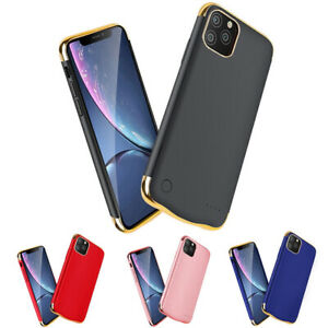 iPhone Ultra Thin Battery Power Case Backup Charging Cover For 6 6S 7 8 XR 11 12