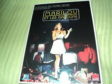 """CD NEUF """"MARILOU ET LES GARCONS - VIDEO-CLUB"""" 8 morceaux"""