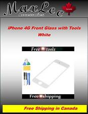 iPhone 4G Front Glass with tools -White -Ships from ON, Canada