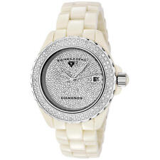 New Swiss Legend Karamica SL20052 BGWFS Women's 341 Diamond Cream White Watch