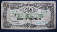 1943 Northern Bank, Ten pounds, £10 Hand signed banknote **[12096]