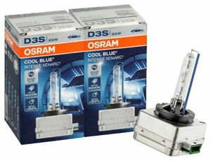 2x OSRAM D3S Cool Blue Intense 66340CBI 6000K 42V 35W Xenon Brenner Lampe KFZ
