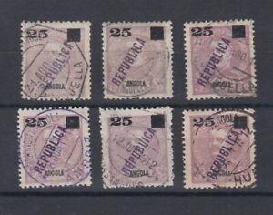 Portugal - Angola Postmarks Small Lot