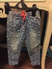 Jeans Joggers Baby Girl 9-12 Months