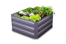 Greenlife 850 X 850mm Raised Garden Bed - Slate Grey