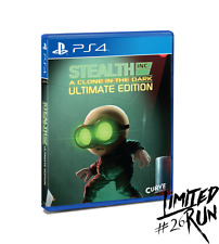 Stealth Inc.: A Clone in the Dark -- Ultimate Edition (Sony PlayStation 4, 2016)