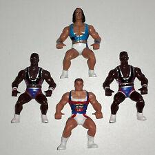 American Gladiators Laser von Mattel S. Goldwin 1991 & Kämpfer Actionfiguren