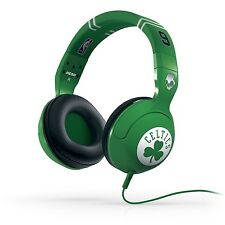 SKULLCANDY HESH II CELTICS  W/MIC HEADPHONES CUFFIE PERSONAL USE NEW