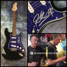 GFA Badfinger Guitarist * JOEY MOLLAND * Signed Electric Guitar PROOF J2 COA