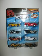 Speed Racer Hot Wheels -nine car pack