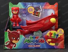 DISNEY Junior PJ MASKS Vehicle Set OWLETTE and OWL GLIDER In Package NEW