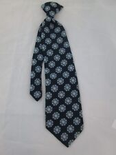 Vintage Coronet 1970s Ugly Men's Clip On Neck Tie Blue