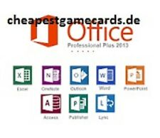 Microsoft Office 2013 Professional Plus MS Office Pro Clé de produit par e-mail