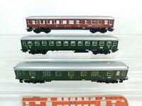 BG735-1# 3x Märklin H0/AC Speisewagen DSG/Gepäckwagen 112401 DB etc, 2. Wahl