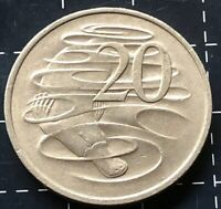 1980 AUSTRALIAN 20 CENT COIN