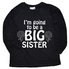 Camisetas y tops de niña de 2 a 16 años de manga larga en negro
