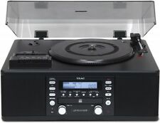 TEAC LP-R550USB-B CD recorder turntable / cassette player with