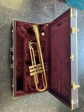 New listing Huang Trumpet W/ Case Instrument Used See Pictures