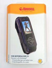 Krusell Motorola Rizr Z3 Leather Case