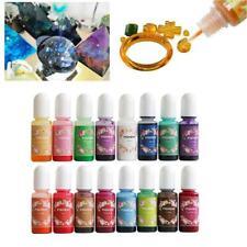 13/19/24 pcs Mix Colors 10g Epoxy UV Resin Coloring Dye Colorant Pigment Nice