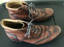 Great Men's Cole Haan Brown Chukka Ankle Tie Desert Boots Size 8 Free Shipping