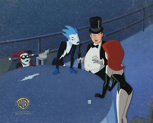 New Batman Adventures- Original Production Cel/OBG-Harley/Ivy+-Girls Night Out