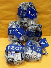 5 Mini Set IZOD Cologne by Phillips Van Heusen MEN 0.25 oz EDT + After Shave Bag