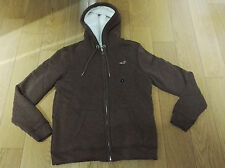 Sweat doublé Sherpa HOLLISTER NEUF Taille S Gilet Pull