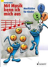 Musiktheorie Musiklehre : Mit Musik kenn ich mich aus 1 für Kinder Rudolf NYKRIN