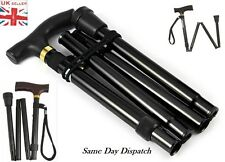 New Walking Sticks Easy Folding Adjustable Light Weight Aluminium Sticks