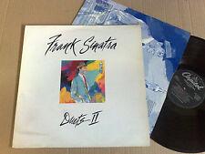 FRANK SINATRA DUETS II CAPITOL 1994 LP ORIGINAL INNER SLEEVE