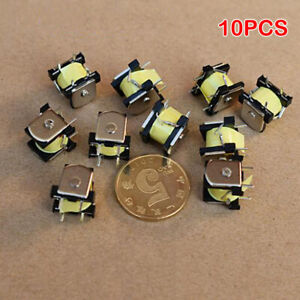 10PCS Mini Electromagnet Solenoid DC 24V 36Ma Small Inductor Inductance Coil