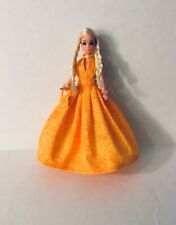Custom Topper Dawn Doll ~Spring is here Orange Gown Ensemble!~