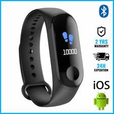 Original M3 Smart Band Watch Sport Montre Horloge Bluetooth Android iOS Black