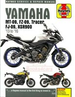 YAMAHA SHOP MANUAL SERVICE REPAIR MT09 TRACER HAYNES BOOK CLYMER CHILTON