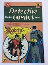 1995 Toys R Us Special Replica Edition ~ DETECTIVE COMICS #38 ~ Batman+Robin