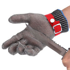 Safety Cut Proof Stab Resistant Butcher Gloves Stainless Steel Metal Mesh Work