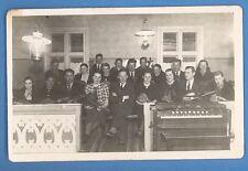 LATVIA PEOPLE PLAY MANDOLIN VIOLIN AND HARPSICHORD VINTAGE PHOTO PC. 327