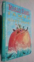 ROALD DAHL.JAMES AND THE GIANT PEACH.1ST EMMA CHICHESTER CLARK ILLS.H/B 1990