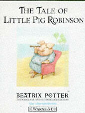The Tale of Little Pig Robinson #19 by Beatrix Potter HBDJ 1995 OOP