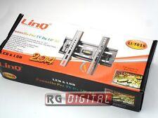 LinQ LI-T015 STAFFA SUPPORTO PARETE PORTA TV LCD PLASMA LED 10 A 32 POLLICI
