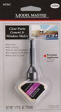Testors Model Master Clear Parts Cement TES8876C