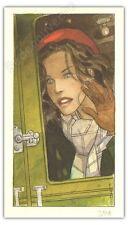 Ex-libris Gibrat Jeanne  signé 15x26