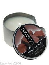 (8€/100ml) Gourmet Massagekerze Schokolade - 200ml