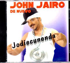 "JOHN JAIRO PEREZ - ""JODIENCUNENDA"" - CD"