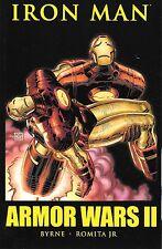 IRON MAN ARMOR WARS II TPB 2 258-266 JOHN BYRNE AND ROMITA JR $29.99 RETAIL MINT