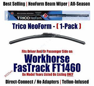 Qty 1 Super Premium NeoForm Wiper fits 2000-2002 Workhorse FasTrack FT1460 16160