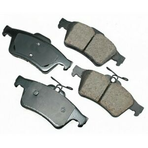 Akebono Ceramic Rear Disc Brake Pad Set EUR1095 Ford Escape Focus C-Max Mazda 3