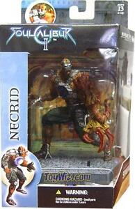 SOUL CALIBUR 2 NECRID McFARLANE/SPAWN ACTION FIGURINE SEALED MIB